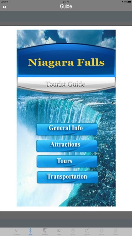 Niagara Falls Tourist Travel Guides screenshot-1