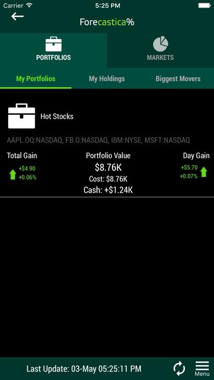 Virtual Stock Market Trading