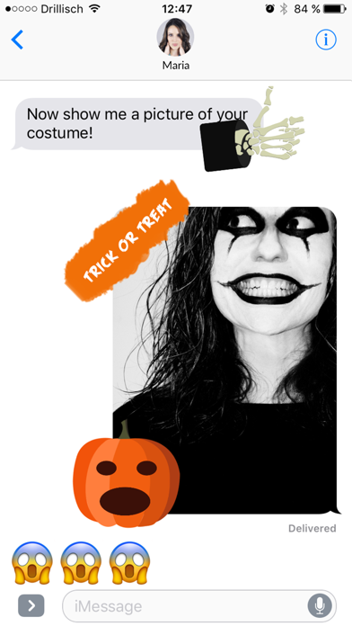 Grusel - Halloween Stickers screenshot three