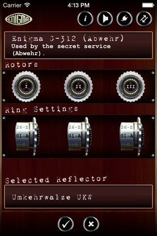 Mininigma: Enigma Simulator screenshot 3