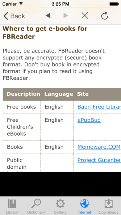 Ebookmobi review screenshots