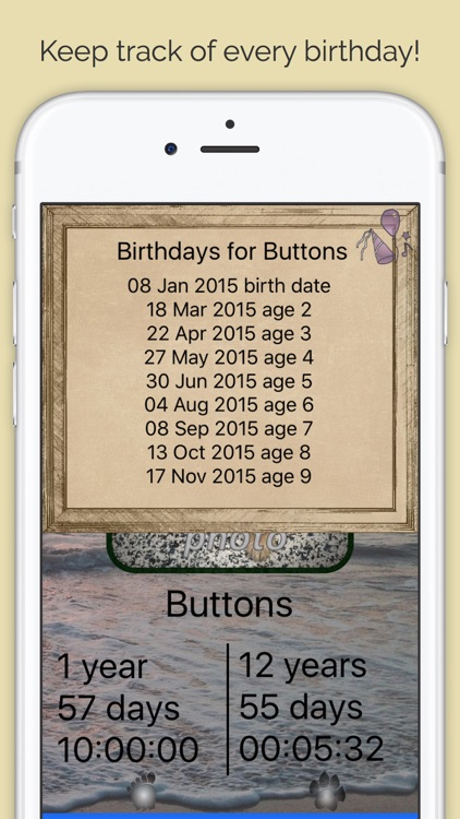 Pet Age & Birthday Tracker for 200+ Breeds - Full screenshot-4