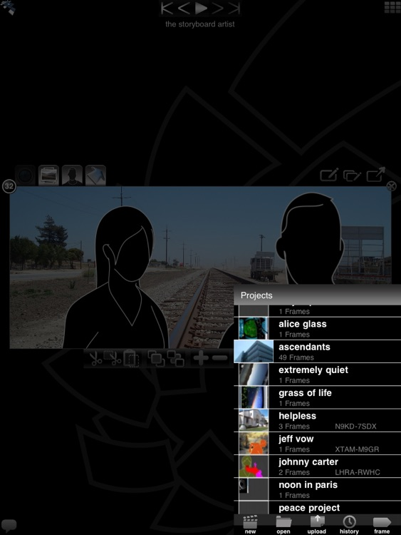 StoryBoard Quick Direct HD - for iPad screenshot-4