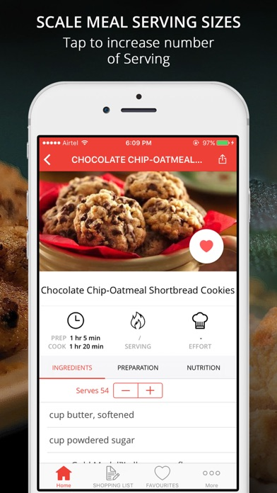 Screenshot #8 for Cookie & Cream Recipes Pro - Cook And Learn Guide