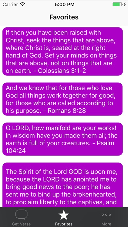 Inspirational Bible Verses screenshot-2
