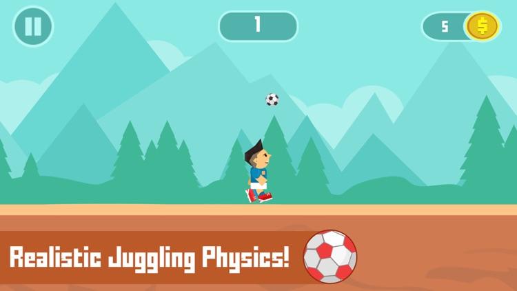 Super Football Jump - Kicking & Juggling Arcade Game screenshot-3