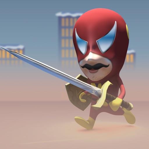 Super Hero Run Madness icon