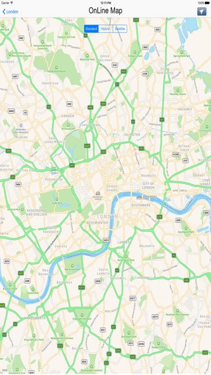 London tube & subway maps
