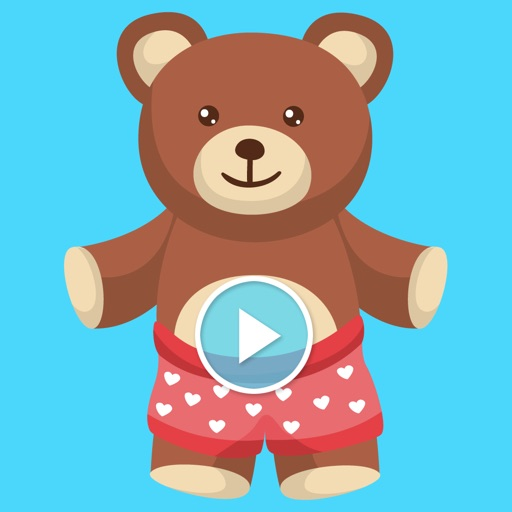 Animated Teddy Bears Stickers