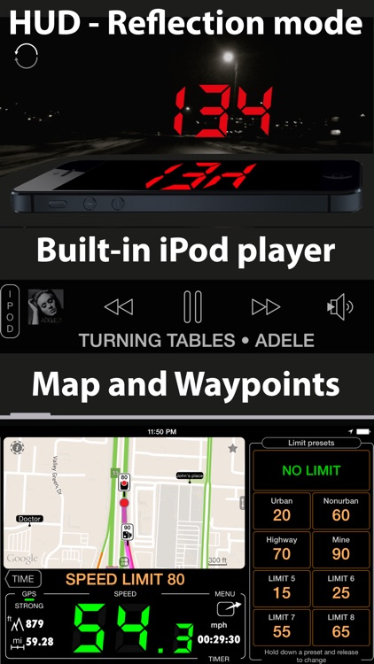 Speedometer. Trip Cost, Mileage and GPS Tracker screenshot-3