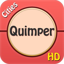 Quimper Offline Map Travel Explorer