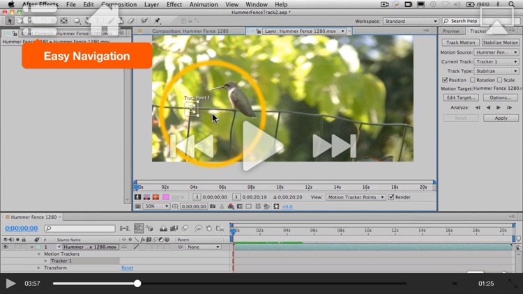 Course For After Effects Motion Tracking screenshot-3