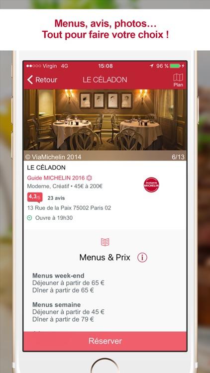 MICHELIN Restaurants - Recherche et Réservation screenshot-4