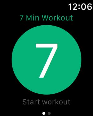 Quick Fit - 7 Minute Workout, Abs, and Yoga Screenshot