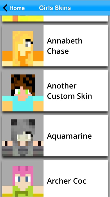 Girls Skin Pack +Editor for Minecraft PE+PC