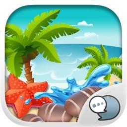 The Ocean Emoji Stickers Keyboard Themes ChatStick