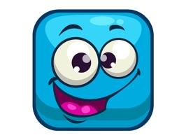 Color Squares Smileys stickers pack for iMessage