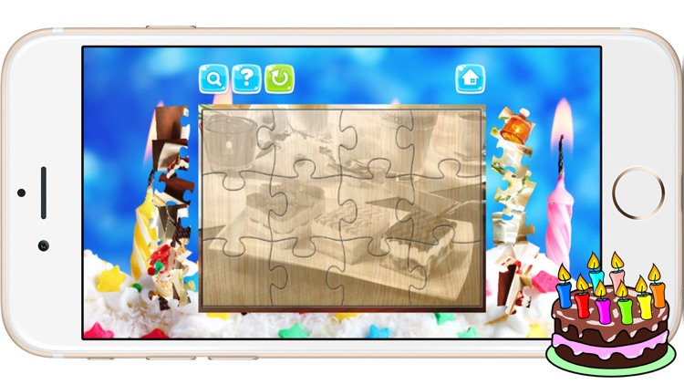 Cake Jigsaw Puzzles for Baby Kids and Toddlers screenshot-3