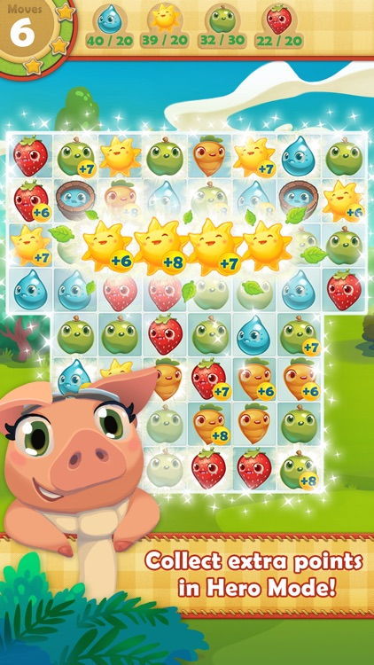 Farm Heroes Saga screenshot-0
