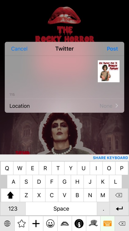 The Rocky Horror Picture Show Emojis screenshot-2