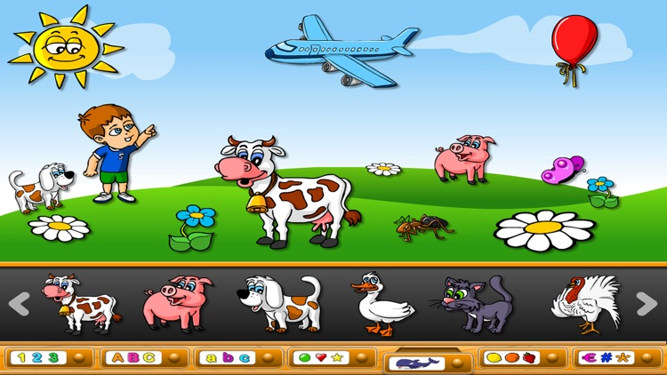 ABC Magnetic Land: Learn Alphabet,Shapes & Letters screenshot-4
