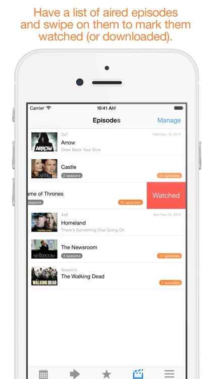 Next Episode - Track TV Shows screenshot-3