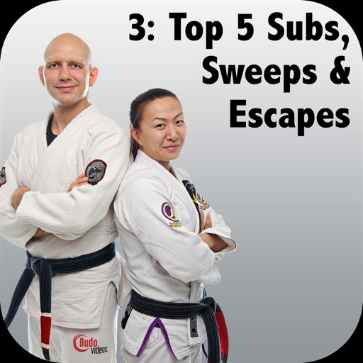 Top 5 BJJ Subs, Sweeps & Escapes, Bigstrong 3