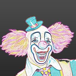 Clown Stickers