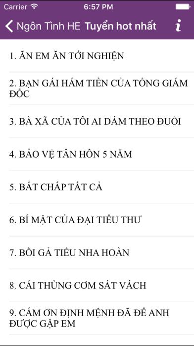 200 Ngôn tình HE - Offline - Hay Nhất Hot Nhất screenshot two