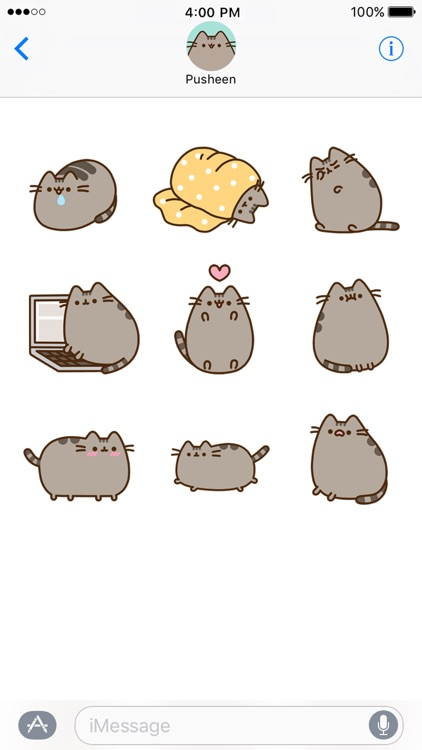 Pusheen Animated Stickers screenshot-4