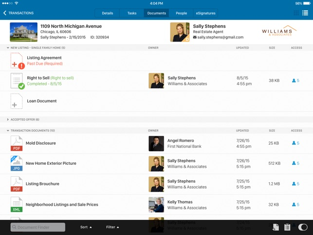 DocuSign Transaction Rooms on the App Store