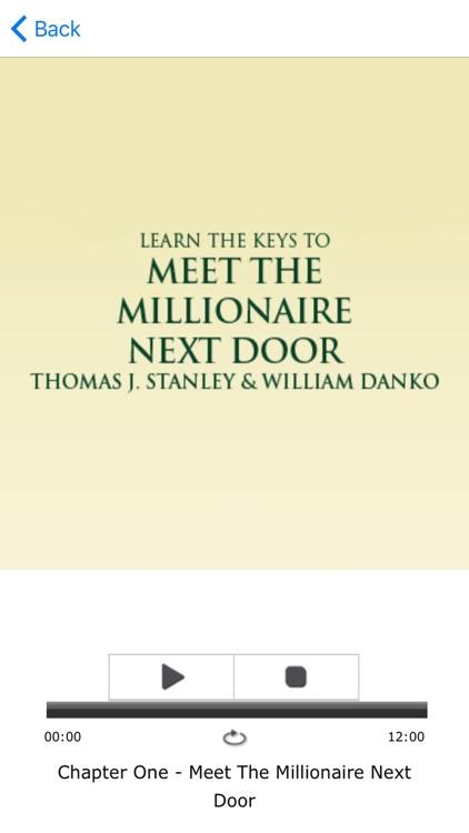 The Millionaire Next Door Meditations Audiobook screenshot-3