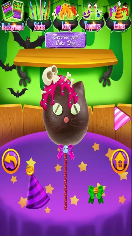 Halloween Cake Pops - Kids Dessert Food Games FREE