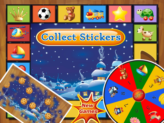 Puzzle for Santa - Christmas Gift HD Puzzles for Kids and Toddler by Tiltan Games screenshot