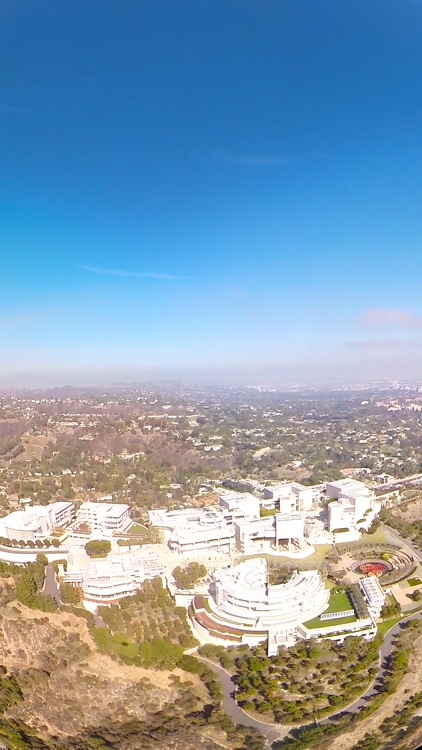 VR Santa Monica Helicopter Virtual Reality 360 screenshot-4