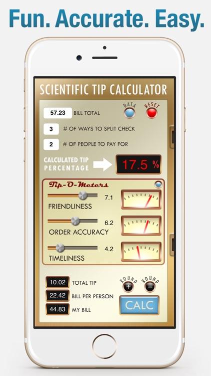 Tip-O-Meter - The Scientific Tip Calculator