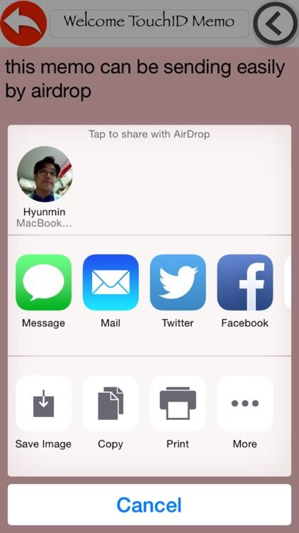 Finger ID Memo + screenshot-3