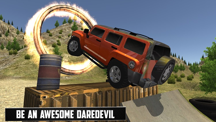 Offraod Hummer Jeep GT Racing Stunts screenshot-4