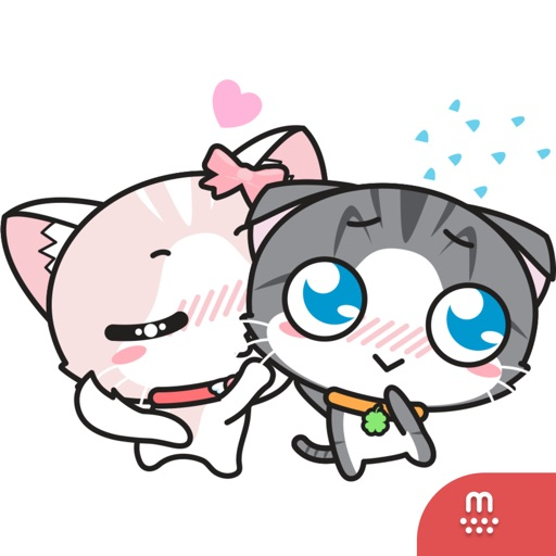 Milky & Clover stickers for iMessage