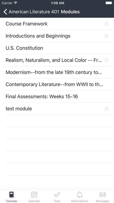 Canvas Student app image