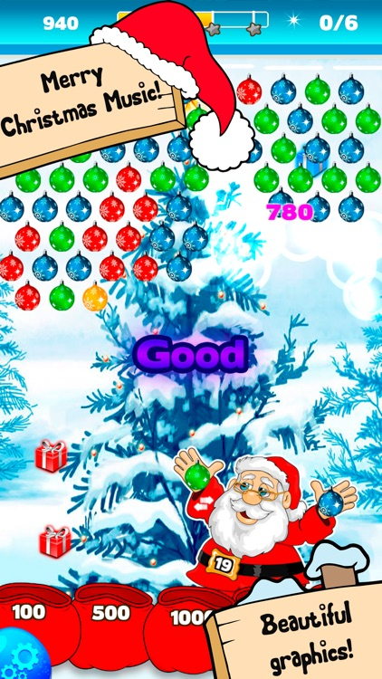 Bubble Shooter Christmas Balls screenshot-2