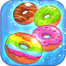 Donut Dazzle Jam: Match 3 Puzzle Candy Game