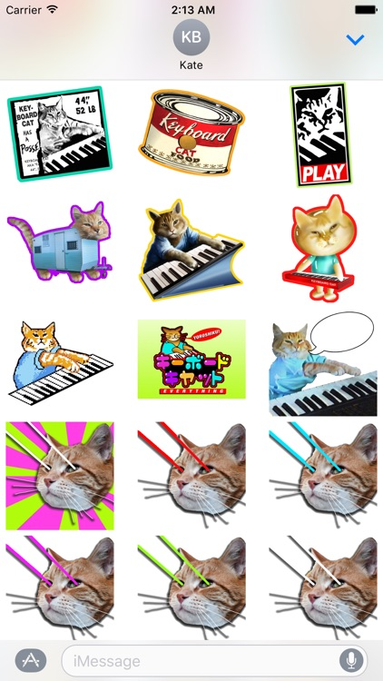 Keyboard Cat Stickers! screenshot-4