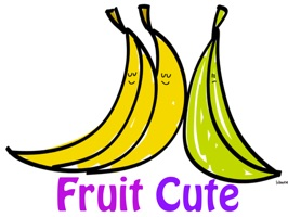 A collection of Fruit Cute stickers for you