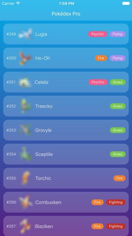 Dex Pro for Pokémon