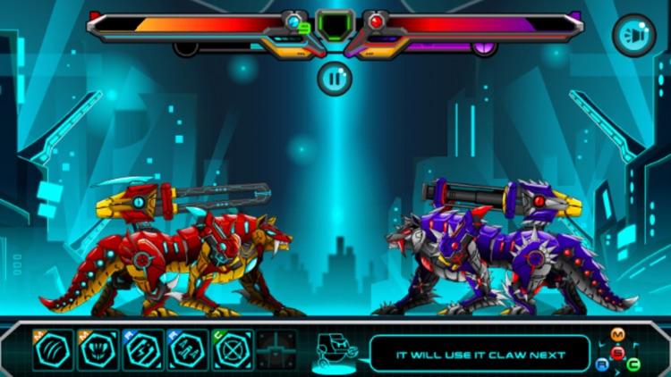 机械狼的战争:太空星际的机器人大战