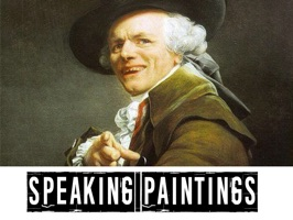 Enjoy with your friends using this fantastic and crazy SPEAKING PAINTINGS