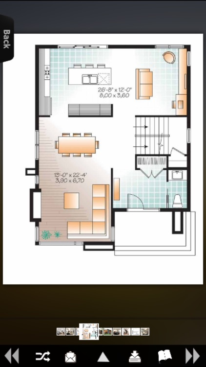 Contemporary - House Plans Collection screenshot-3