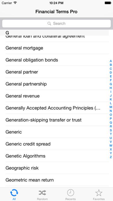 Financial Terms Pro review screenshots