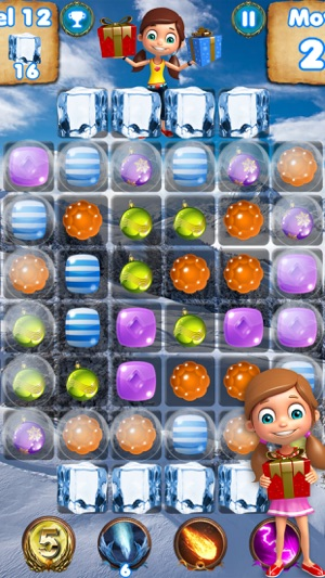 christmas crush free puzzle games to match candy on the app store